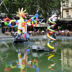 Fountains Paris-fontaine stravinsky-05