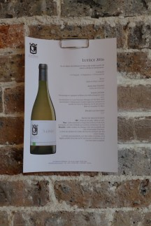 Les Vignerons Parisiens-White wine Lutece