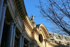 Petit Palais - Paris - View from the garden