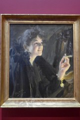 Anders Zorn-La dame à la cigarette-1892