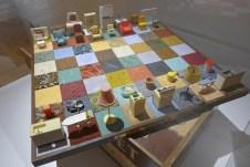 Women House-Rachel Whiteread-Modern Chess set