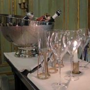 Champagne Bar Le Dokhans-Bottles and glasses