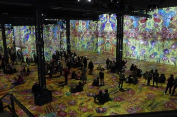 Atelier des lumieres-Paris-Klimt et la nature-01