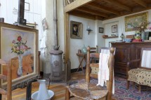 Musee de Montmartre - Paris - The Studio of Suzanne Valadon - period furniture