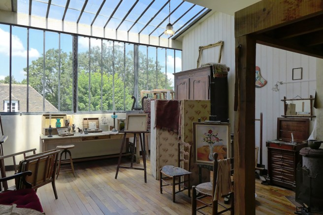Musee de Montmartre - Paris - The Studio of Suzanne Valadon
