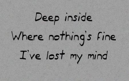 42 Depressing Quotes and Sayings about Life and Love depression quotes deep inside wheres nothings fine