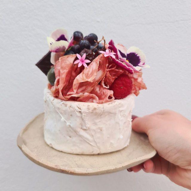 Mini Brie Cake