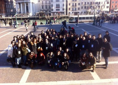 """I ragazzi del """"Progetto Studenti"""" arrivano a Venezia"""