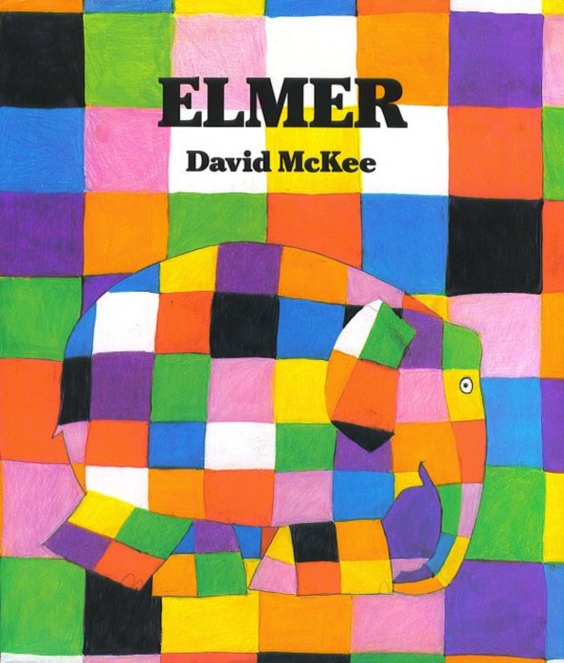Elmer is a children's book that teaches values