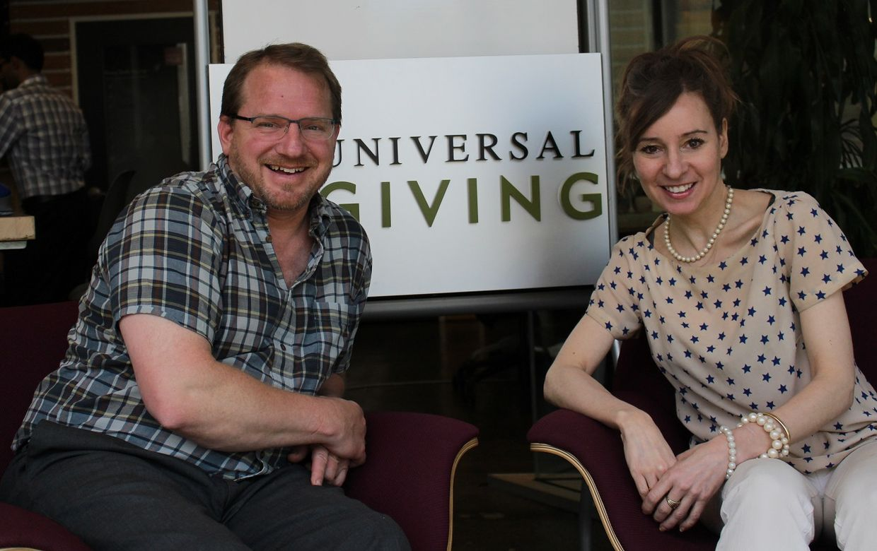 UniversalGiving CEO Pamela Hawley