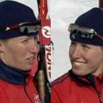skiing bianthlon Barnes sisters