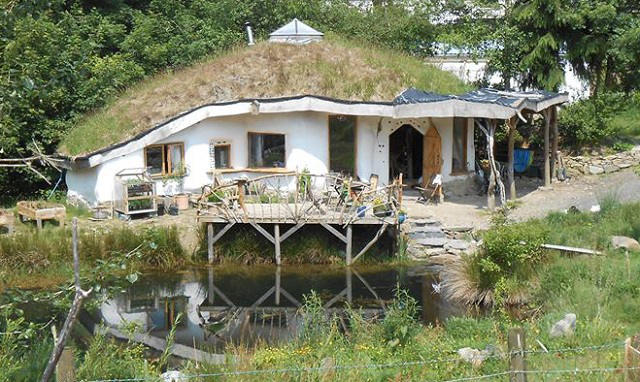 After Epic Battle Real Life Hobbit House Is Saved From