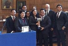 The winning UP team
