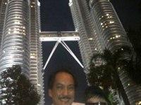 Emmanuel Canlas (left) at the KLCC Petroas Towers