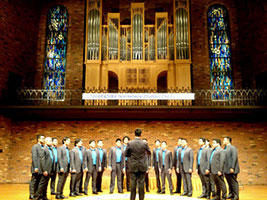 The Aleron choral ensemble