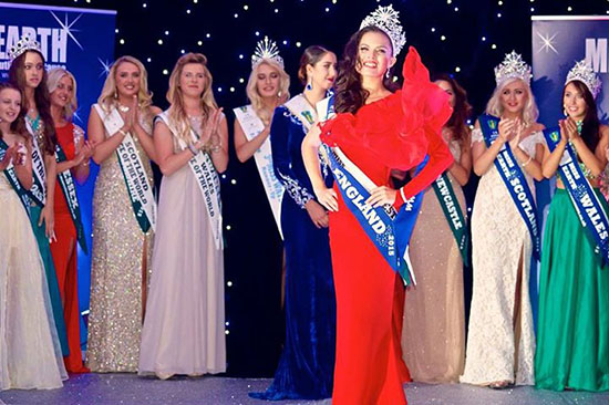 Katrina Kendall - Miss Earth England 2015