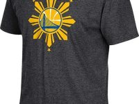 Pinoy theme shirts worn by NBA Champs Warriors