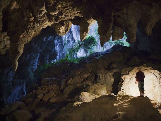 Philippines cave