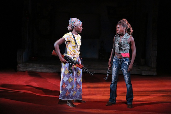 A scene from Eclipsed
