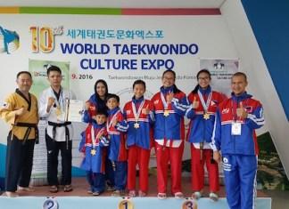 Philippine Taekwondo Team from Zamboanga