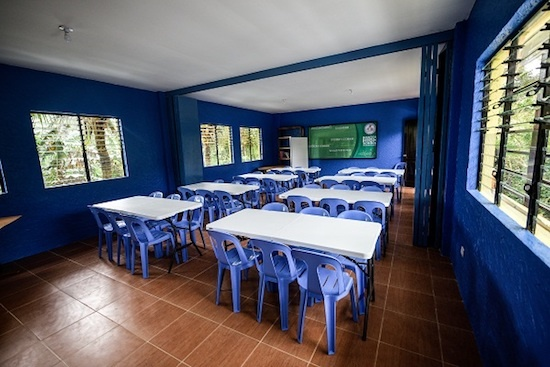 Ecodemya eco-friendly classroom