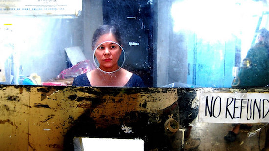 Jaclyn Jose, in a scene from Brillante Mendoza's Serbis