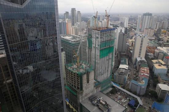 Construction of new buildings