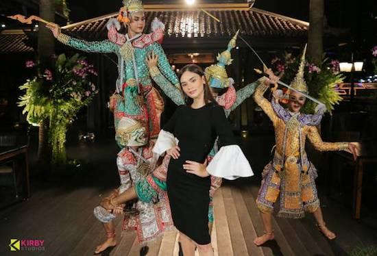 Pia Wurtzbach in Thailand