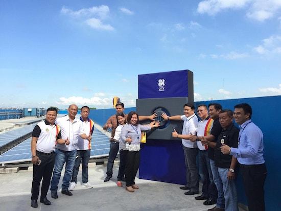 SM City Cauayan recently launched its 342-panel solar power facility