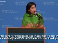 Clare Amador is first Filipino to address fellow Harvard Kennedy School graduates