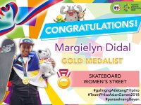 Skateboarder Margielyn Didal delivers 4th Asian Games Gold for the Philippines
