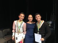 Lisa Macuja School of Ballet bag Top Prize at Asian Grand Prix competition in Hong Kong