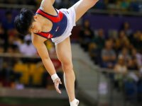 Gymnast Carlo Yulo wins historic bronze at the World Championships in Qatar