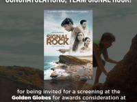 Signal Rock gets 76th Golden Globes screening invitation