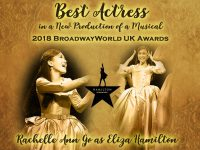 Rachelle Ann Go wins BroadwayWorld UK Best Actress Award for Hamilton