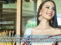 Catriona Gray gifts the Philippines 4th Miss Universe crown, advocates positivity