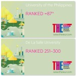 UP, DLSU consistently rank in Emerging Economies University Rankings 2019