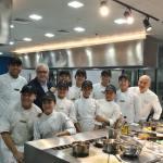 World renowned chef Alain Ducasse teaches Filipino street children how to cook