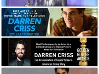 Darren Criss' Screen Actors Guild Best Actor award speech highlights using craft to create positive change