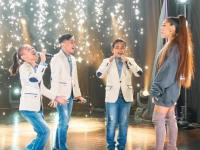 Ariana Grande bows to TNT Boys in surprise performance on Late Late Show with James Corden