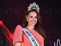 Catriona Gray comes home, champions the protection of Filipino children