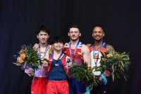 Carlos Edriel Yulo wins gold at World Cup Gymnastics in Melbourne