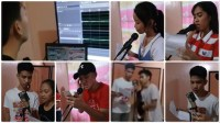 Samar high school broadcasters rehearsal Facebook video showcases budding Filipino radio talents