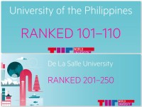 UP and De La Salle University soar in Asia Pacific THE World University Rankings