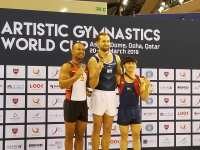 Pinoy Gymnast Carlos Yulo wins bronze in 2019 Doha World Cup on his way to SEA Games berth