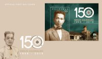 150th birth anniversary of 1st Philippine President Emilio Aguinaldo celebrated on PHLPost commemorative stamps