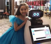 "1st robot mall customer attendant ""SAM"" debuts offline and online for SM customers"