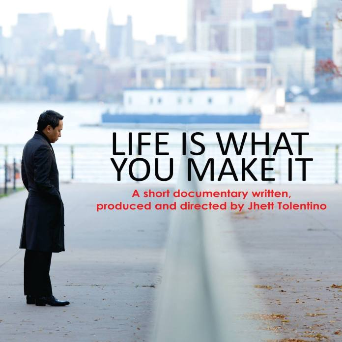 Jhett Tolentino Life is what you make it
