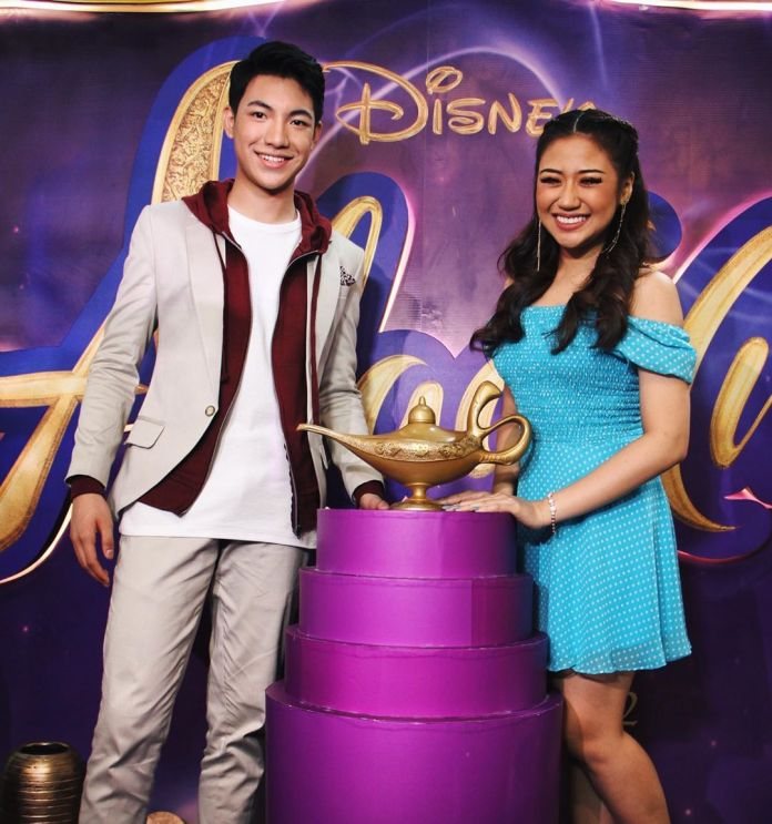 Disney Filipino singers Darren and Morissette
