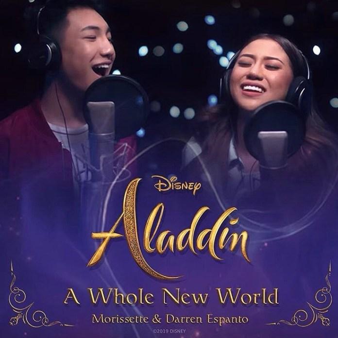 Disney Filipino singers Darren and Morissette